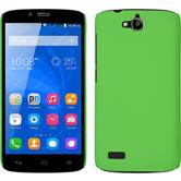 Hardcase for Huawei Honor Holly rubberized green