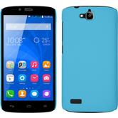 Hardcase for Huawei Honor Holly rubberized light blue