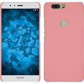 Hardcase Honor V8 gummiert rosa + 2 Schutzfolien