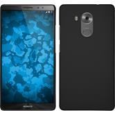 Hardcase für Huawei Mate 8 gummiert schwarz