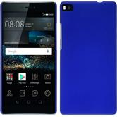 Hardcase P8 gummiert blau