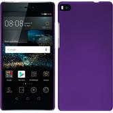 Hardcase for Huawei P8 rubberized purple