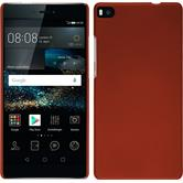 Hardcase for Huawei P8 rubberized red
