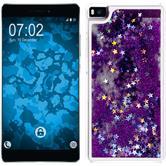 Hardcase für Huawei P8 Stardust lila
