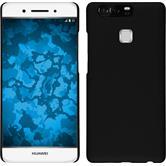 Hardcase für Huawei P9 gummiert schwarz
