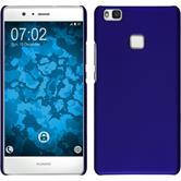 Hardcase P9 Lite gummiert blau + 2 Schutzfolien