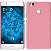 Hardcase P9 Lite gummiert rosa