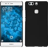 Hardcase für Huawei P9 Plus gummiert schwarz