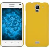 Hardcase Y360 gummiert gelb + 2 Schutzfolien