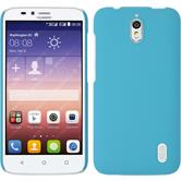 Hardcase for Huawei Y625 rubberized light blue