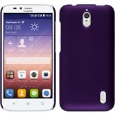 Hardcase for Huawei Y625 rubberized purple