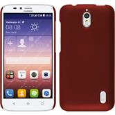 Hardcase for Huawei Y625 rubberized red