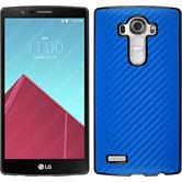Hardcase for LG G4 carbon optics blue