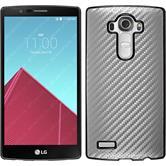 Hardcase for LG G4 carbon optics silver