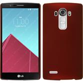 Hardcase for LG G4 rubberized red