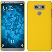 Hardcase G6 gummiert gelb