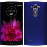 Hardcase für LG G Flex 2 gummiert blau