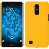Hardcase K10 2017 gummiert gelb + 2 Schutzfolien