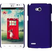 Hardcase for LG L80 Dual rubberized purple