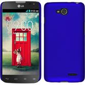 Hardcase for LG L90 Dual rubberized blue