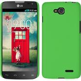Hardcase for LG L90 Dual rubberized green