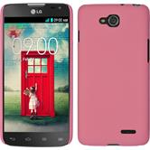 Hardcase for LG L90 Dual rubberized pink