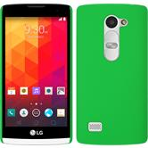 Hardcase for LG Leon rubberized green