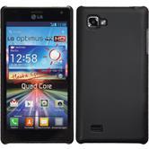 Hardcase for LG Optimus 4X HD P880 rubberized black