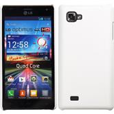 Hardcase for LG Optimus 4X HD P880 rubberized white
