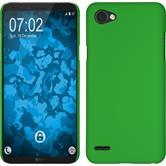Hardcase Q6 gummiert grün + 2 Schutzfolien