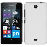 Hardcase Lumia 430 Dual gummiert weiß