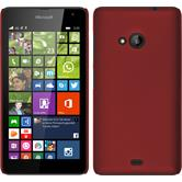 Hardcase Lumia 535 gummiert rot