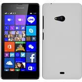 Hardcase Lumia 540 Dual gummiert weiß