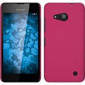 Hardcase Lumia 550 gummiert pink