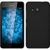 Hardcase Lumia 550 gummiert schwarz
