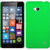 Hardcase Lumia 640 gummiert grün