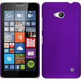 Hardcase for Microsoft Lumia 640 rubberized purple
