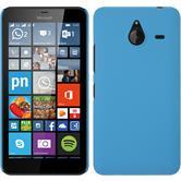 Hardcase for Microsoft Lumia 640 XL rubberized light blue