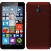 Hardcase for Microsoft Lumia 640 XL rubberized red