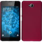 Hardcase Lumia 650 gummiert pink Case