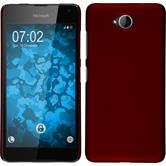 Hardcase Lumia 650 gummiert rot