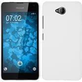 Hardcase Lumia 650 gummiert weiß Case