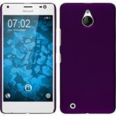 Hardcase Lumia 850 gummiert lila