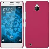 Hardcase Lumia 850 gummiert pink Case