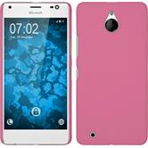 Hardcase Lumia 850 gummiert rosa Case