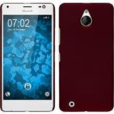 Hardcase Lumia 850 gummiert rot