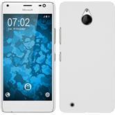 Hardcase Lumia 850 gummiert weiß