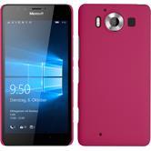 Hardcase Lumia 950 gummiert pink