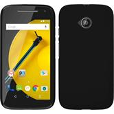 Hardcase for Motorola Moto E 2015 2. Generation rubberized black