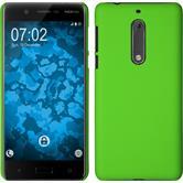 Hardcase für Nokia 5 gummiert grün